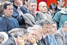 Los ruralistas, liderados por Alfredo De Angeli, llevaron sus quejas a la Comisión de Agricultura