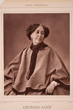 La dibujante y escritora francesa George Sand, pareja de Chopin. Foto: Flickr