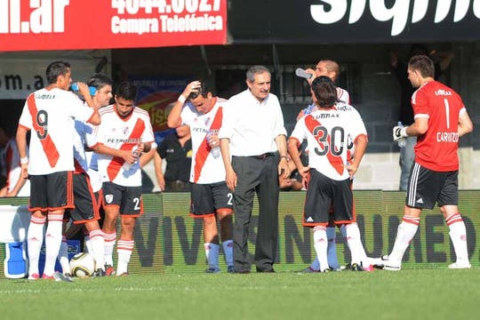 Su último partido: derrota ante All Boys. Foto: Télam