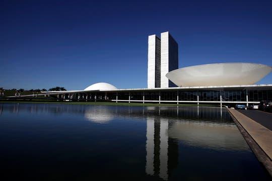 El Congreso Nacional de Brasil, diseñado por Niemeyer. Foto: Archivo