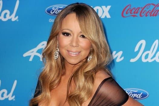 También le llegó a ella; Mariah Carey ya pasó los 40 (este año va por los 43) y mirá su cutis. Foto: AFP