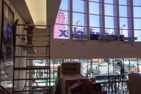 Trabajos contra reloj para poner a nuevo el complejo, una de las sedes del Bafici 2013