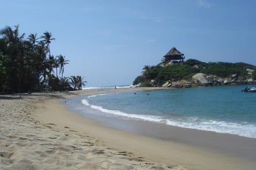 Las playas de Tayrona, en Colombia. Foto: Sol Amaya