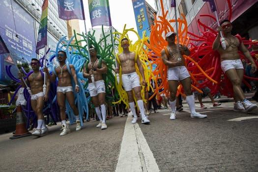 En otras ciudades del mundo, como en Hong Kong, también se celebra el Orgullo Gay. Foto: Reuters