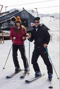 Florencia Bertotti y Federico Amador, en la nieve y con planes de casamiento