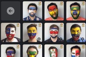 """Copa América 2016: cómo """"pintarse"""" la cara con la aplicación oficial de Facebook"""