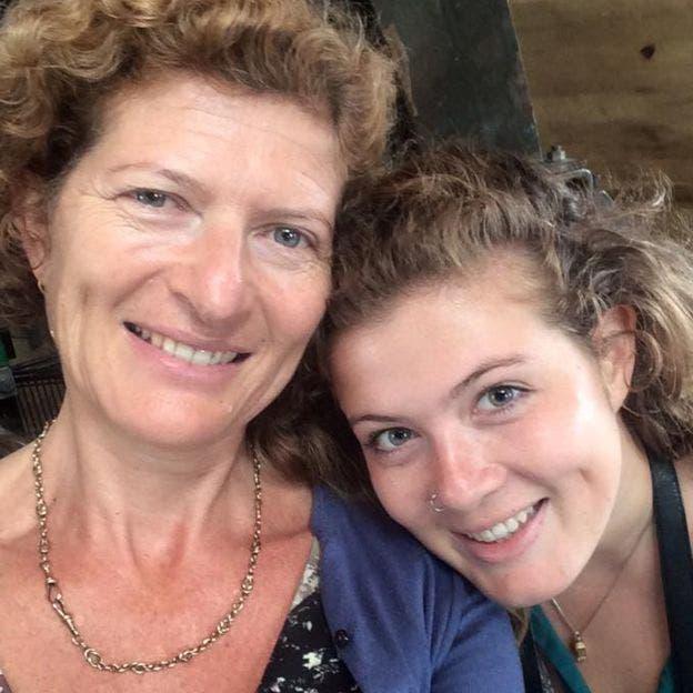 Evie Prichard comparte la condición con su madre, Mary Ann Sieghart