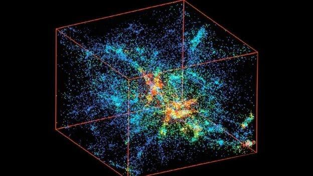 Los científicos han simulado el nacimiento del universo. Y muchas otras cosas.