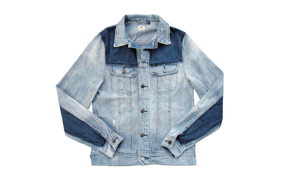 Camisa bicolor (Lee, $2499).