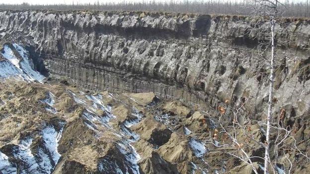 Las capas de sedimento expuestas revelan cómo fue el clima en la región durante 200.000 años, según los científicos