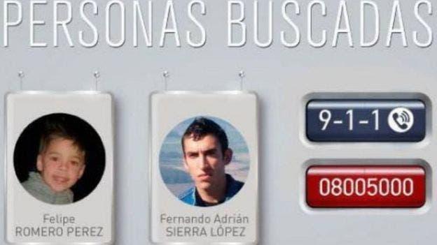 Campañas en redes sociales y a través de la policía se desplegaron por todo Uruguay para dar con el paradero de Felipe