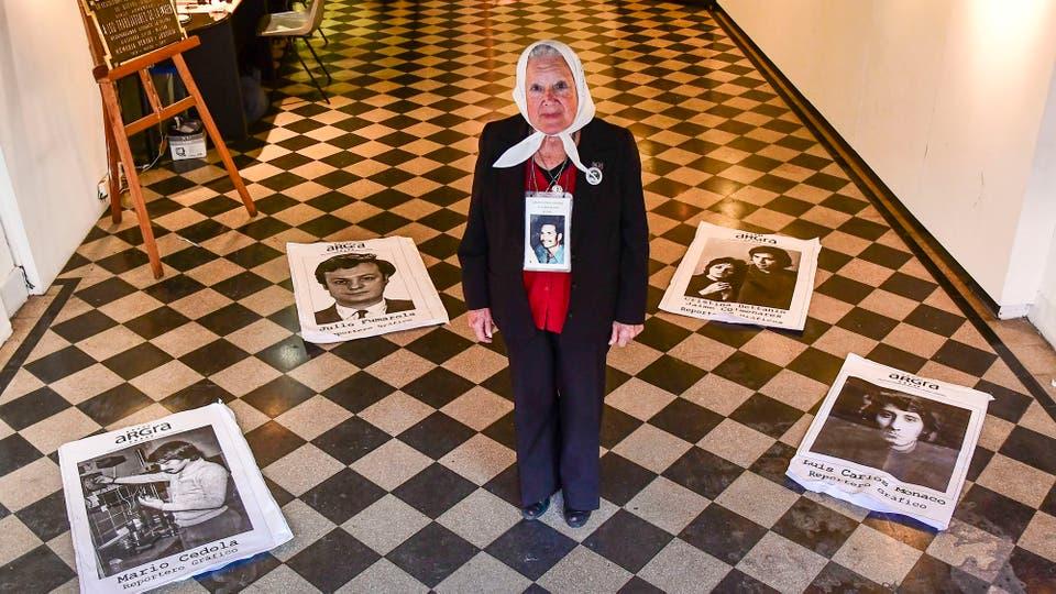 Nora Morales de Cortiñas, militante y defensora de los derechos humanos argentina, cofundadora de la Madres de Plaza de Mayo