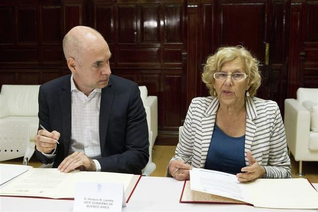 Rodríguez Larreta expuso ayer en el Instituto de Empresa de España