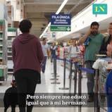 Mudgie, la perra guía que permite que su dueña ciega juegue al golf, al tenis y viaje en colectivo