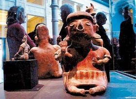 Piezas que ya se exhiben en el museo uruguayo; parte de la colección pertenece a Matteo Goretti