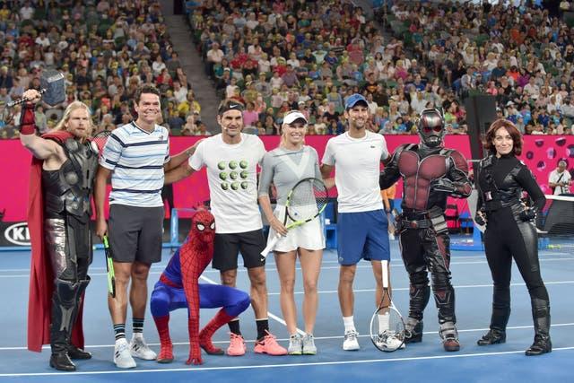 Empieza en Melbourne el torneo inicial del Grand Slam, con el Nº 1 del ranking en juego entre el español y el suizo