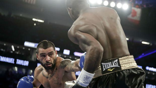 El chubutense regresó a los rings en Las Vegas