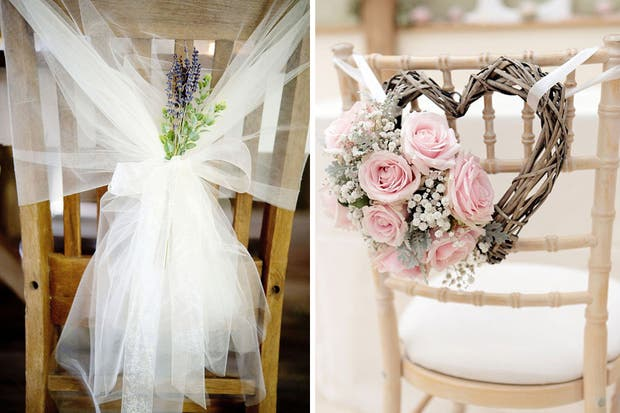 15 ideas diy para tu casamiento revista ohlal for Sillas para novios en la iglesia