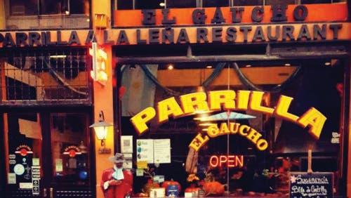 Un menú amplio y bien criollo se ofrece en El Gaucho de Lavalle