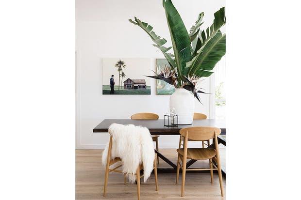 Los detalles naturales son bienvenidos para darle frescura a un ambiente de diseño escandinavo.  /Viewfrom5ft2