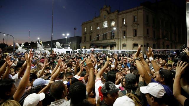 Los manteros se manifestaron durante dos días hasta que llegaron a un acuerdo con el gobierno porteño