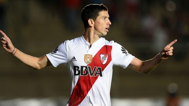 Nacho Fernández, el goleador copero de River