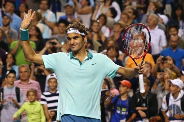 Federer, siempre vigente