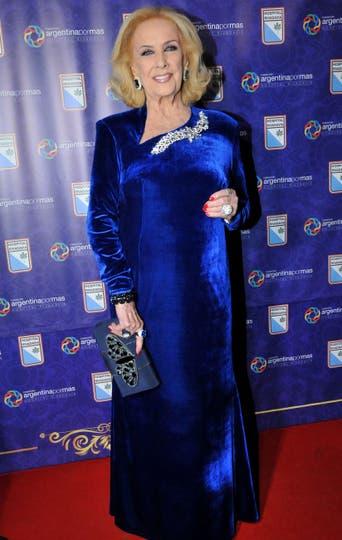 Mirtha Legrand fue la gran anfitriona de la gala. Foto: Gerardo Viercovich