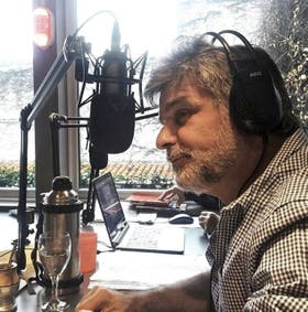 Filmus, ayer en su programa de radio