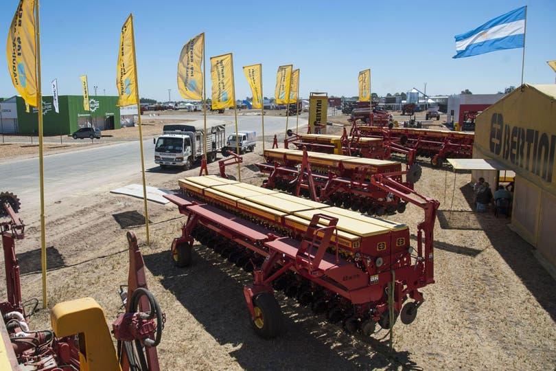 En la mayor muestra a campo abierto del país se presentan hasta el viernes próximo en San Nicolás las últimas innovaciones en maquinaria agrícola e insumos