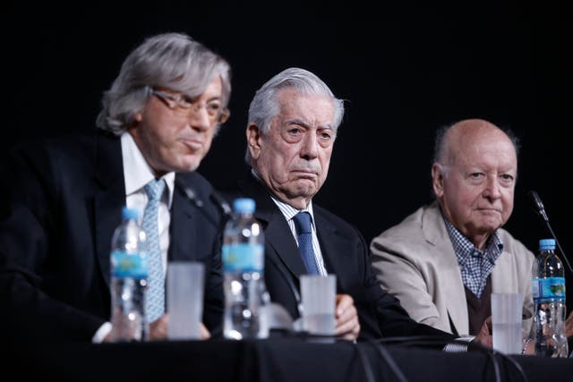 Roemmers, Vargas Llosa y Edwards