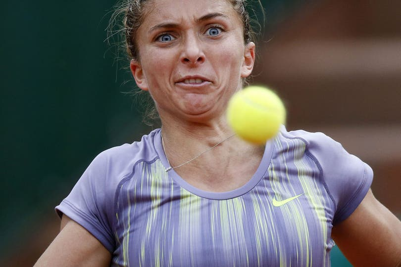 Si yo les digo que la italiana Sara Errani está buena... ¿me creen?. Foto: AFP