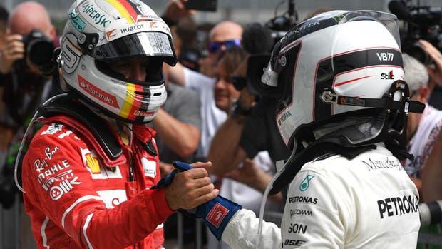 Vettel, el líder del campeonato de pilotos de la F1