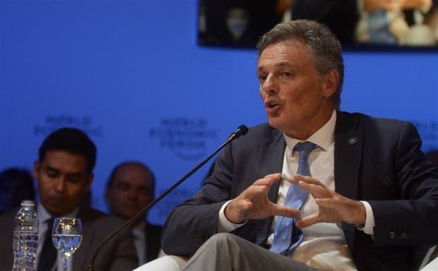 El ministro Cabrera expuso ayer en el Foro Económic