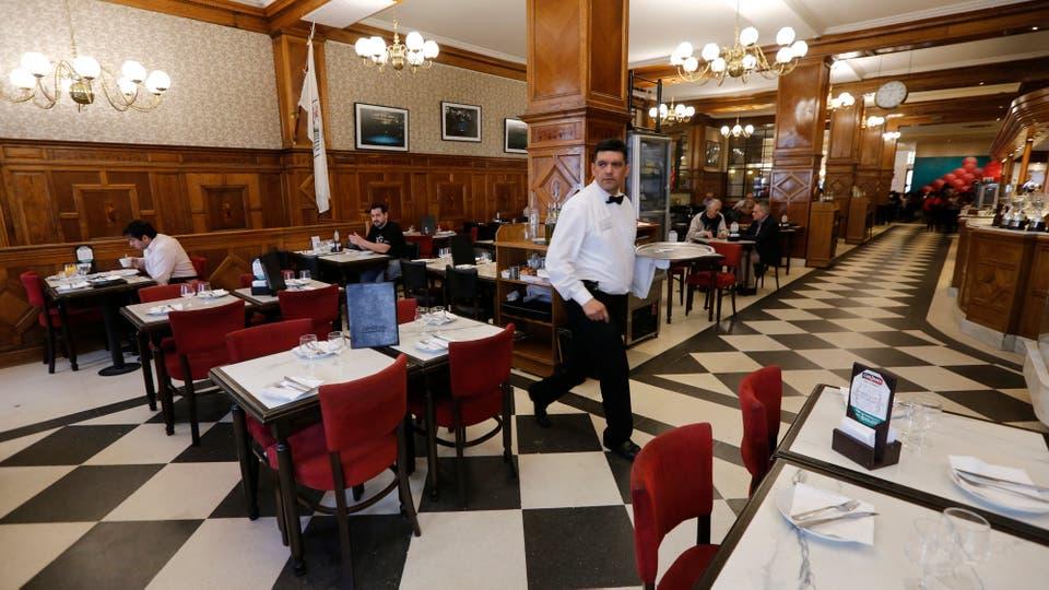 Los 36 billares, bar notable y destacado de Buenos Aires. Foto: LA NACION / Ricardo Pristupluk