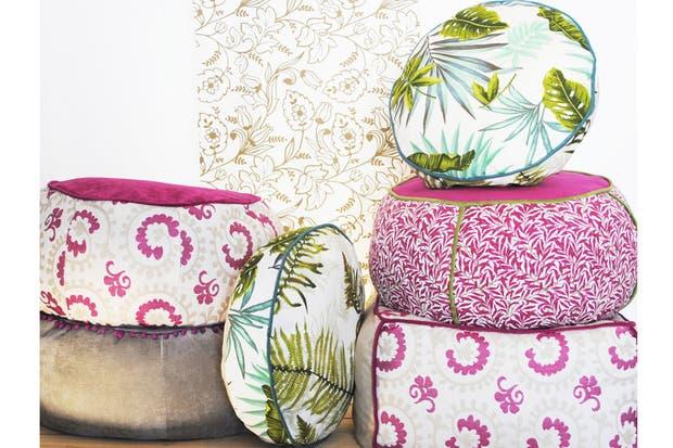 Pufs y banquitos: diseños con onda para tu casa   living   espacio ...