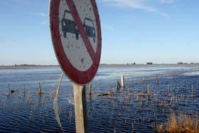 Alerta por una nueva crecida del río Salado