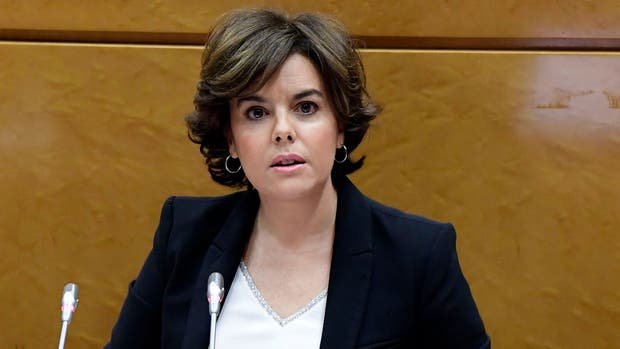 Soraya Sáenz de Santamaría, vicepresidenta de España