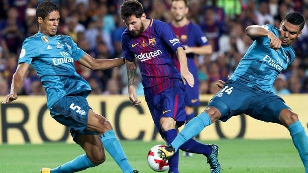 ¿Pasillo del Barcelona al Real Madrid?
