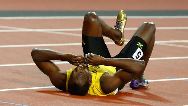 Bolt, rendido en la pista