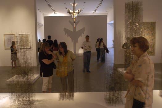 La muestra se extendió entre el 30 de noviembre de 2004 y el 30 de enero de 2005, y fue visitada por más de 65.000 personas. Foto: Archivo