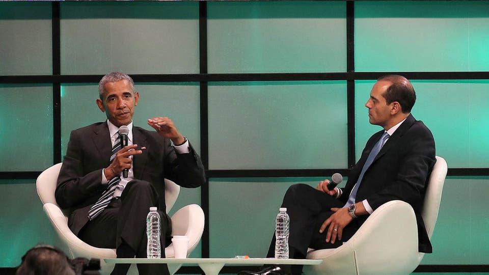 Barack Obama en la Cumbre de Economía Verde en Córdoba. Foto: Reuters / Santiago Flaim