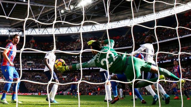 El argentino Gazzaniga debutó en el Tottenham de Pochettino