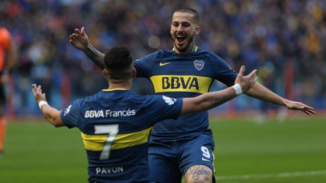 Boca-Chacarita gol de Pavon