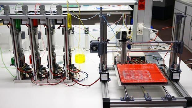 La bioimpresora española capaz de crear piel humana