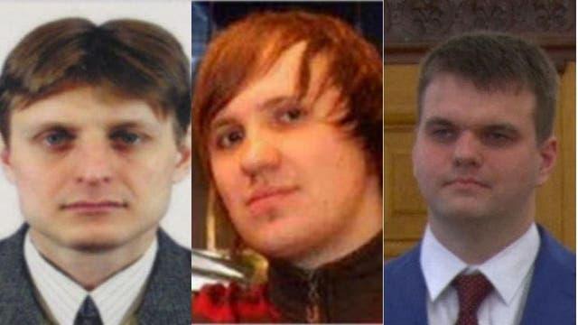 Igor Suschin, Alexsey Belan y Dmitry Dokuchaev, tres de los cuatro acusados por el robo de datos de usuarios de Yahoo