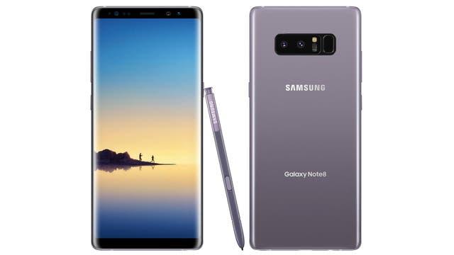 El Galaxy Note 8 toma el diseño del Galaxy S8, agrega una cámara dual trasera y mantiene el lápiz para escribir en pantalla