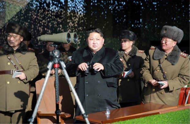 Kim Jong-un, presidente de Corea del Norte