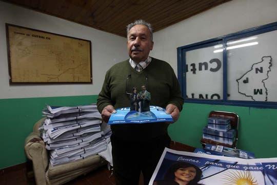 Simón Jalil, ex intentente de Cutral Có por el Movimiento Popular Neuquino. Foto: LA NACION / Santiago Hafford