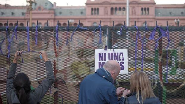 Marcha contra la violencia de género. Foto: Hernán Zenteno